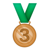 3rd Place Medal on Emojipedia 6.0