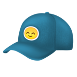 Billed Cap on Emojipedia 11.0