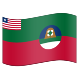 Flag for Margibi (LR-MG) on Emojipedia 11.0