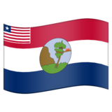 Flag for Nimba (LR-NI) on Emojipedia 11.0