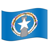 Flag for Northern Mariana Islands (US-MP) on Emojipedia 11.0