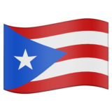 Flag for Puerto Rico (US-PR) on Emojipedia 11.0
