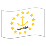 Flag for Rhode Island (US-RI) on Emojipedia 11.0
