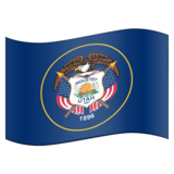 Flag for Utah (US-UT) on Emojipedia 11.0