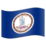 Flag for Virginia (US-VA) on Emojipedia 11.0