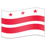 Flag for Washington DC (US-DC) on Emojipedia 11.0