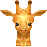 Giraffe on Emojipedia 11.0