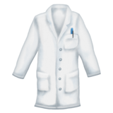 Lab Coat on Emojipedia 11.0