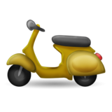 Motor Scooter on Emojipedia 11.0