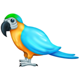Parrot on Emojipedia 11.0