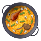 Shallow Pan of Food on Emojipedia 11.0