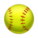 Softball on Emojipedia 11.0