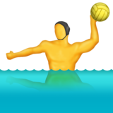 Person Playing Water Polo on Emojipedia 11.0