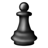 Chess Pawn on Emojipedia 11.1