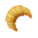 Croissant on Emojipedia 11.1