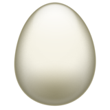 Egg on Emojipedia 11.1