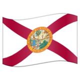 Flag for Florida (US-FL) on Emojipedia 11.1