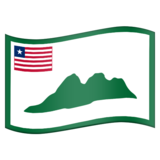 Flag for Grand Cape Mount (LR-CM) on Emojipedia 11.1