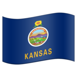 Flag for Kansas (US-KS) on Emojipedia 11.1