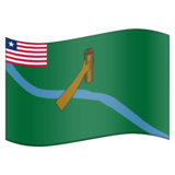 Flag for Lofa (LR-LO) on Emojipedia 11.1