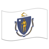 Flag for Massachusetts (US-MA) on Emojipedia 11.1