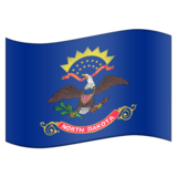 Flag for North Dakota (US-ND) on Emojipedia 11.1