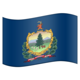 Flag for Vermont (US-VT) on Emojipedia 11.1