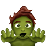 Man Zombie on Emojipedia 11.1