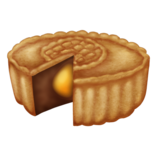 Moon Cake on Emojipedia 11.1