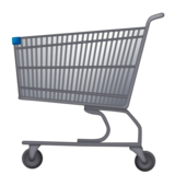 Shopping Cart on Emojipedia 11.1