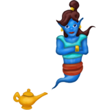Woman Genie on Emojipedia 11.1