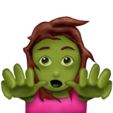 Woman Zombie on Emojipedia 11.1