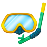 Diving Mask on Emojipedia 12.0