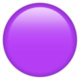 Purple Circle on Emojipedia 12.0