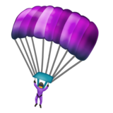 Parachute on Emojipedia 12.0