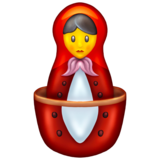 Nesting Dolls on Emojipedia 13.0