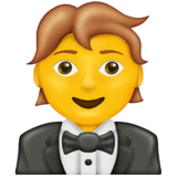 Person in Tuxedo on Emojipedia 13.0