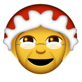 Mrs. Claus on Emojipedia 2.0
