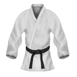 Martial Arts Uniform on Emojipedia 3.0