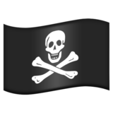 Pirate Flag on Emojipedia 3.0
