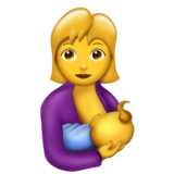 Breast-Feeding on Emojipedia 5.0