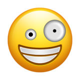 Zany Face on Emojipedia 5.0