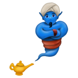 Man Genie on Emojipedia 5.0
