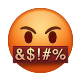 Face With Symbols on Mouth on Emojipedia 5.0
