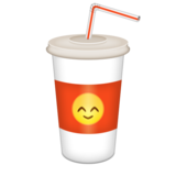 Cup with Straw on Emojipedia 5.1