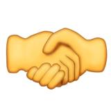 Handshake on Emojipedia 5.1