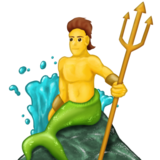 Merman on Emojipedia 5.1