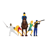 Modern Pentathlon on Emojipedia 5.1