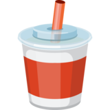 Cup With Straw Emoji On Facebook 21