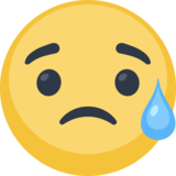 Sad but Relieved Face on Facebook 2.1